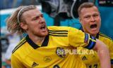 Emil Forsberg Ungkap Keberhasilan Swedia Kalahkan Slovakia