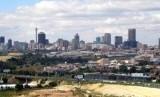 Pemandangan kota Johannesburg, Afrika Selatan