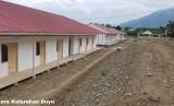 Pembangunan hunian sementara (Huntara) di Duyu, Sulawesi Tengah
