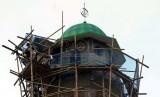 Pemprov Sulbar Berikan Hibah Keagamaan untuk 77 Masjid. Pembangunan masjid   (ilustrasi).
