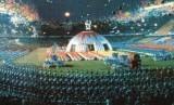 Pembukaan Asian Games 1990 di Beijing, Cina.