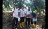 Pemerintah Kabupaten Musi Banyuasin melalui Dinas PUPR dan Dinas Lingkungan Hidup berjibaku turun ke lokasi semburan gas bercampur lumpur akibat ilegal drilling di Dusun I Desa Kaliberau Kecamatan Bayung Lencir.
