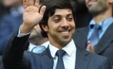 Pemilik Manchester City, Sheikh Mansour.