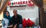 Pemilik Marrakech Cuisine, Maria Rotinsulu El Mourabiti bersama sang suami, Ismail El Mourabiti.Pemilik Marrakech Cuisine, Maria Rotinsulu El Mourabiti bersama sang suami, Ismail El Mourabiti.
