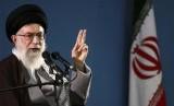 Pemimpin Tertinggi Republik Iran Ayatollah Ali Khamenei mengatakan Donald Trump adalah badut. Ilustrasi.