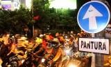 Ilustrasi Jalan Kalimalang, Bekasi, Jawa Barat. BPTJ berencana menerapkan jalan berbayar atau ERP di Jalan Kalimalang.