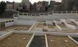Khadijah mempunyai kedudukan istimewa bagi Rasulullah SAW. Penampakkan salah satu sisi makam Khadijah.