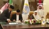 Penandatanganan dilakukan oleh Wakil Ketua Umum DMI, Syafruddin dan Sekretaris Jenderal Liga Muslim Dunia  Syaikh Dr. Muhammad Abdul Karim Al-Isa serta Ketua Yayasan Wakaf Salam Dr. Nashir Az-Zahroni.