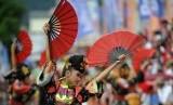 Perayaan Cap Go Meh di Singkawang, Kalimantan Barat. (Dok)
