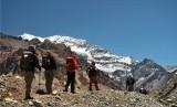 Pendaki gunung (ilustrasi)