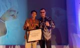 """Pendiri & CEO Oorth, Krishna Adityangga, berhasil mendapat penghargaan sebagai """"Solo Marketing Champion 2019"""" dari MarkPlus Inc bidang Cretive Economy pada acara Indonesia Marketeers Festival (IMF) 2019 di The Sunan Hotel Solo, Selasa (9/7)."""