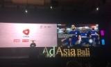 Pendiri Grup Mahaka sekaligus pemilik Republika Erick Thohir dalam pemaparan tentang industri olahraga, Jumat (10/11).