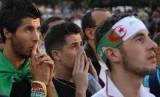 Pendukung timnas Aljazair (ilustrasi)