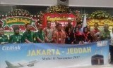 Penerbangan perdana Ashpurindo dengan City Link, di Jakarta (10/11).