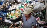 Pengelolaan sampah kota (ilustrasi)