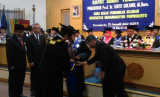 Pengukuhan Prof. Dr. Tanto Sukardi, M.Hum sebagai guru besar pendidikan sejarah UMP.