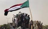 Politik Islam di Sudan tak terlepas dari dinamika internal dan eksternal. Ilustrasi demonstrasi di Sudan.