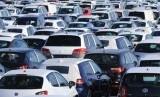 Penjualan kendaraan. Ilustrasi
