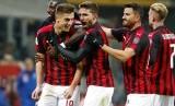 Para pemain AC Milan. (ilustrasi)