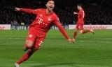 Penyerang Bayern Muenchen Serge Gnabry.
