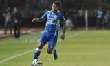 Penyerang Persib Bandung Zulham Zamrun.