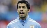 Penyerang timnas Uruguay, Luis Suarez.