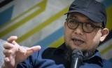 Penyidik senior KPK Novel Baswedan berbicara dalam sebuah diskusi di Jakarta, Sabtu (6/4/2019).