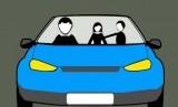 Perampokan di mobil (ilustrasi).