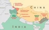Perbatasan Cina dan India.