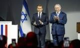 Netanyahu dan Macron Bahas Situasi Timteng. Perdana Menteri Israel Benjamin Netanyahu (kanan) dan Presiden Prancis Emmanuel Macron.