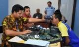 Perekaman data KTP-el yang dilakukan Disdukcapil Kabupaten Sleman di Lapas Narkotika Kelas II A Yogyakarta.