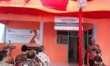 Peresmian BUMdes Center Traktakan Jaya Makmur, Kabupaten Bondowoso, Jatim, Senin (27/8).
