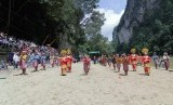 Peresmian lokasi wisata Silokek sebagai Kawasan Nasional Geopark, Kamis (8/2)