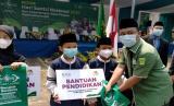 NU Care-LAZISNU dan Bank Mega Syariah Bantu Pelajar Dhuafa