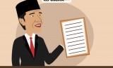 Jokowi akan menggigit siapapun yang mengancam pengurangan impor (ilustrasi).
