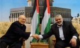 Pertemuan delegasi Fatah Nabil Shaath dan PM Hamas Ismail Haniyah