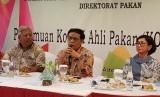 Pertemuan komisi pakan bersama Dirjen PKH Kementan I Ketut Diarmita beberapa waktu lalu