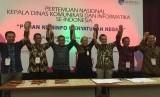 Perum LKBN Antara menyatakan komitmen mendukung tugas Dinas Komunikasi dan Informatika di berbagai daerah untuk tetap menjaga keutuhan Negara Kesatuan Republik Indonesia (NKRI) dan menyatukan berbagai komponen bangsa.