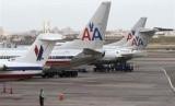 Pesawat maskapai American Airlines.