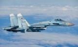 Pesawat Sukhoi 27 milik Rusia diterbangkan menuju Suriah.