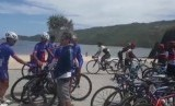 Peserta Tour de Lombok Mandalika (TdLM) 2018
