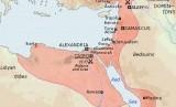 Peta kekuasaan Dinasti Mamluk.