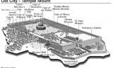 Peta Kompleks Masjid Al-Aqsha.