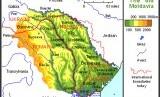 Peta Rumania dan Moldova. Wacana penyatuan Rumania dan Moldova terus menguat.