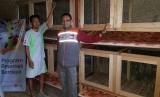 Peternak kelinci binaam Rumah Zakat.