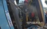 Korban Meninggal Tabrakan Bus Transjakarta Jadi Dua Orang