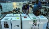 Ilustrasi pemilu di Papua.