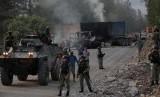 Aparat Baku Tembak dengan KKB Papua