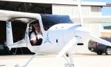 Pilot Robert Bodley akan melatih pilot lainnya untuk menerbangkan pesawat elektrik ini.