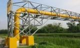 Pipa gas PGN/ilustrasi. PGN alirkan gas ke PT KLK sebesar 145 ribu meter kubik per bulan